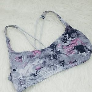 Lululemon Free to be Floral Sports Bra